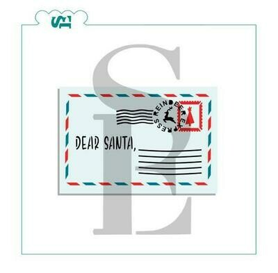 SE Dear Santa 3 piece Stencil Set