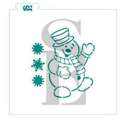 SE Snowman PYO Stencil