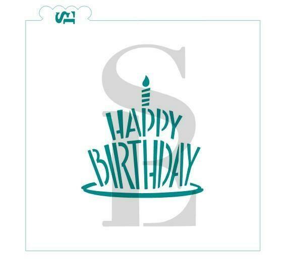SE Happy Birthday Cake #2