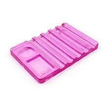 Acrylic Brush Holder (Purple)