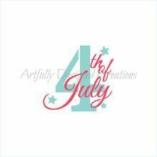 AD July 4th Double Stencil