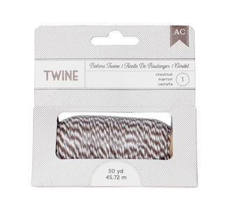 AC Bakers Twine Chestnut