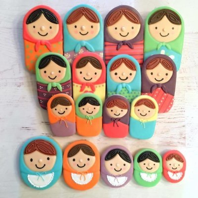 Anita's Complete Russian Nesting Doll Set of 5 (r doll 2.5