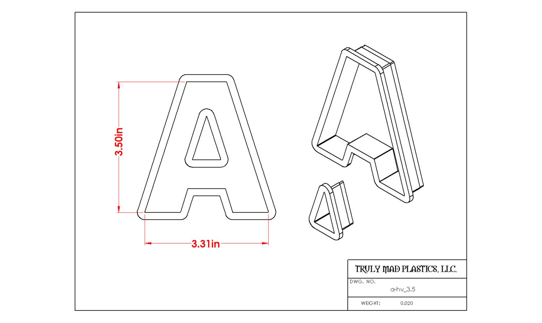 "Helvetica A 3.5"""