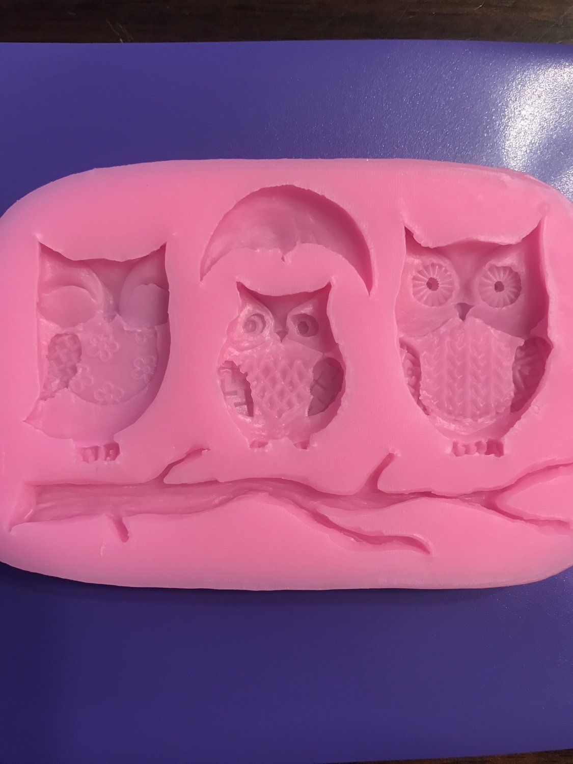 Owls Silicone Mold
