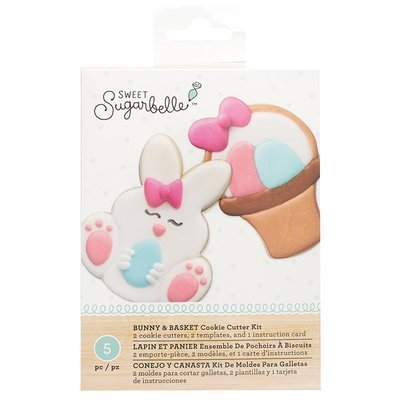 Sweet Sugarbelle Bunny & Basket Cookie Cutter Set