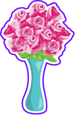 Vase Flowers 01