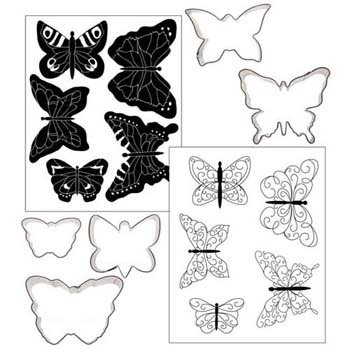 Butterfly Texture and Cutter Set