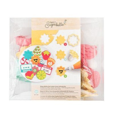 Sweet Sugarbelle Shape Shifter Cutter & Stamp Set