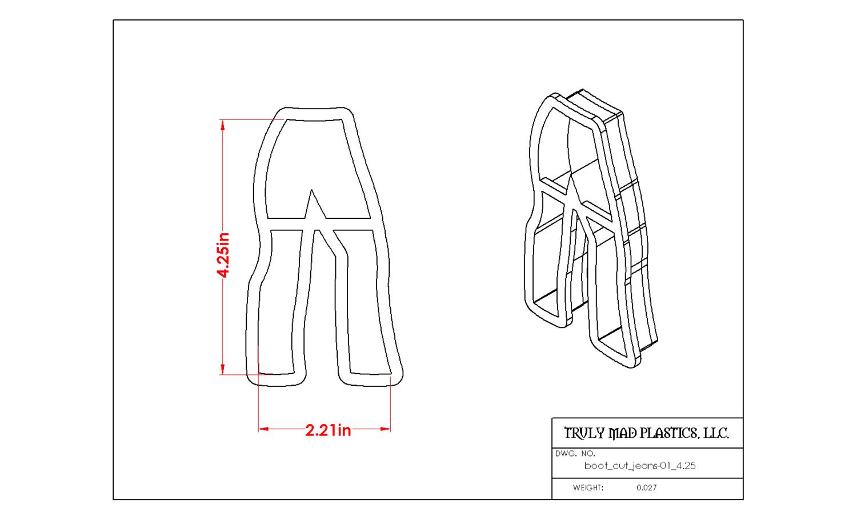 Boot Cut Jeans 01