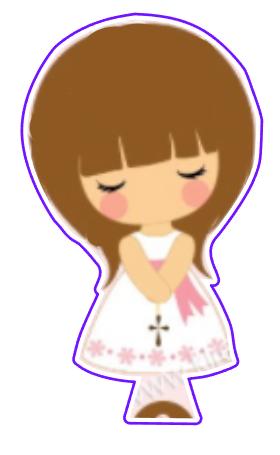 1st Communion Girl 04