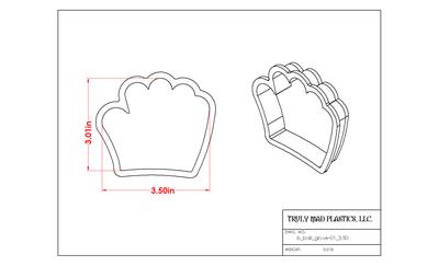 Baseball Glove (b_ball glove 01)