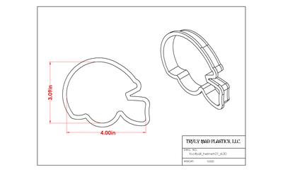 Football Helmet 01
