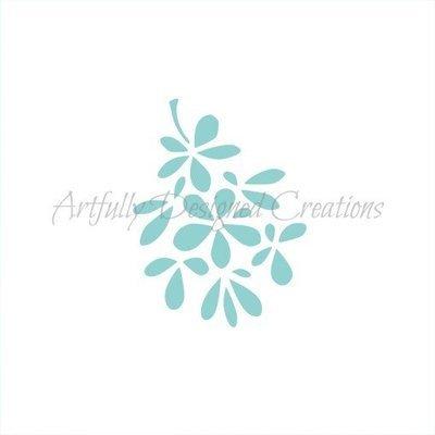 AD Blyss Mistletoe Stencil