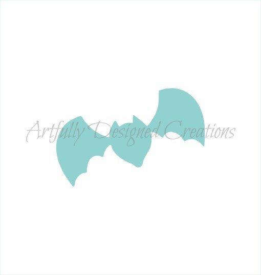 AD Blyss Bat Stencil