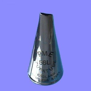 PME Tip No. 56L Left Handed Petal Tube