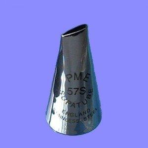 PME Tip No. 57S Ambidextrous Petal Tube