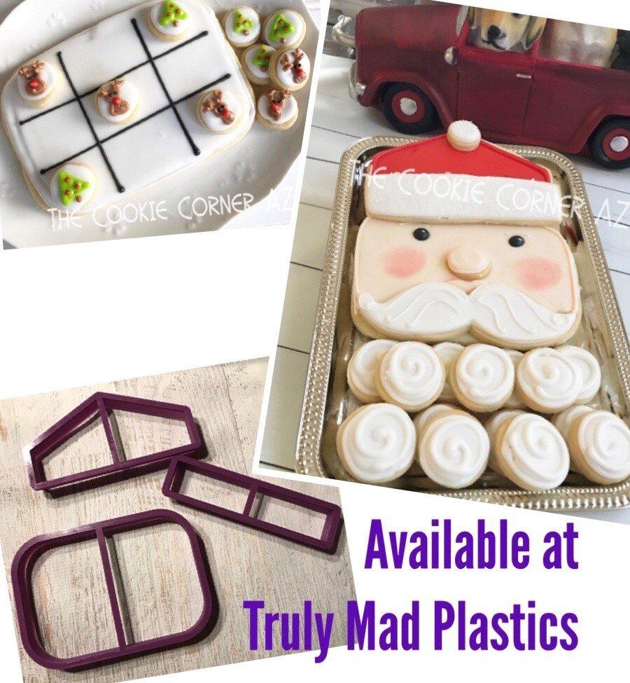 Santa Face Platter Set (5 cutter set)