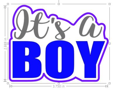 It's a Boy 01