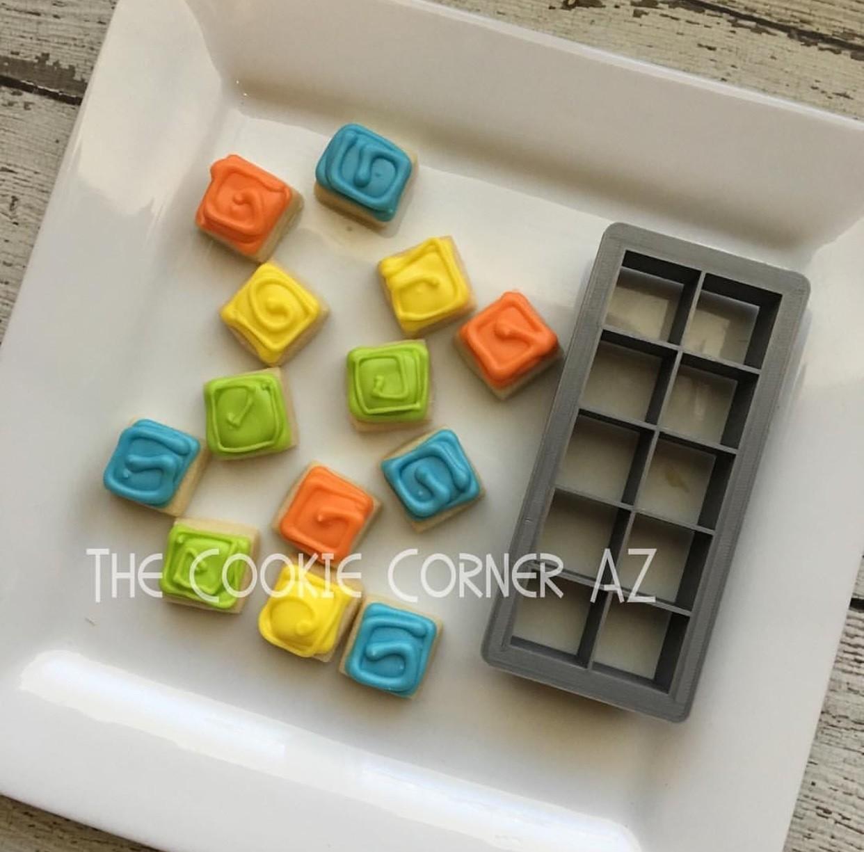 "Square 1.0"" (Cuts 10)"