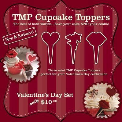 CT Valentine Set (heart 13, lips, cupid)
