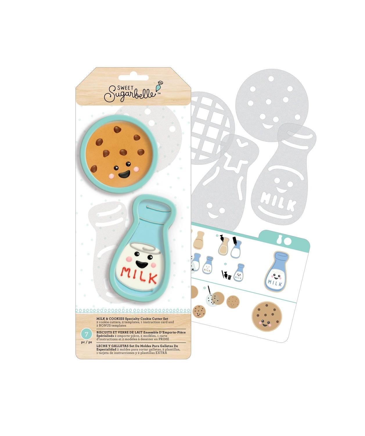 Sweet Sugarbelle Cookies/Milk Set