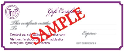 20.00 Gift Certificate