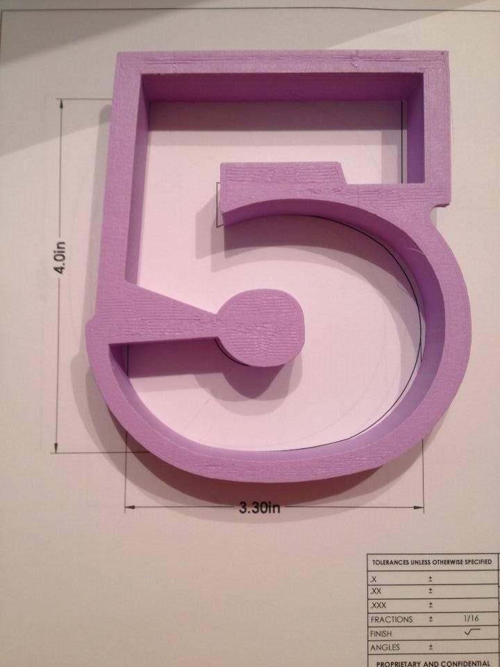 "4"" Block Number 5"