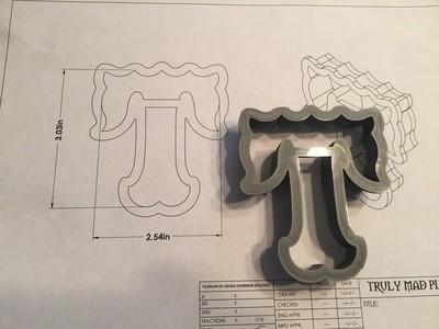 """T 3"""" Fancy Font"""