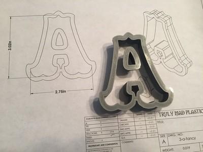 """A 3"""" Fancy Font"""