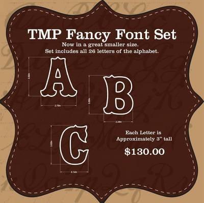 "3"" Fancy Font (Full Set)"