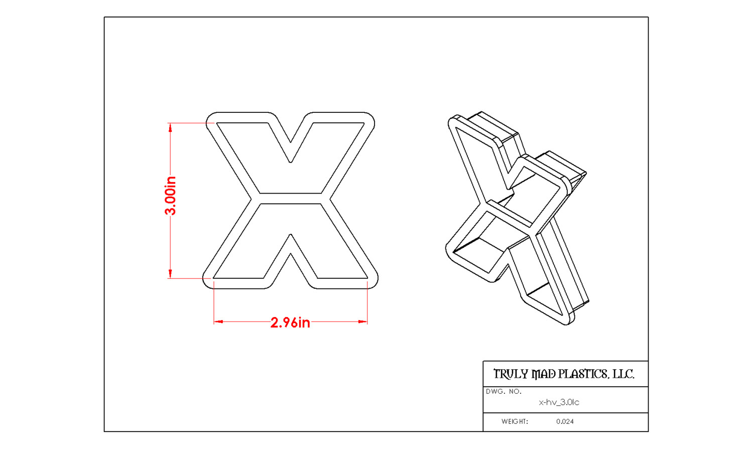 "Helvetica ""x"" lower case 3.0"""