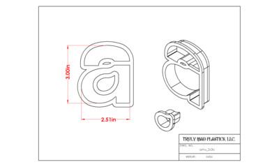 "Helvetica ""a"" lower case 3.0"""