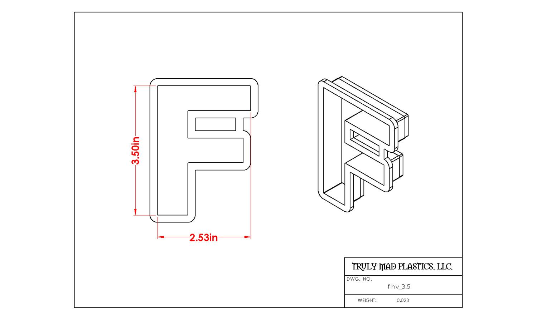 """Helvetica F 3.5"""""""