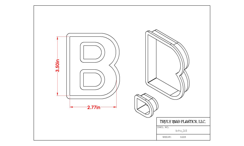 """Helvetica B 3.5"""""""