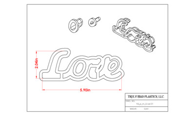 Love Spelled Out (Fd p m love)