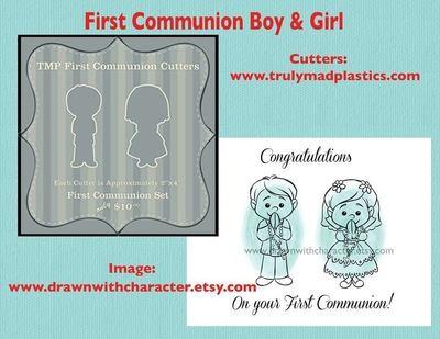 1st Communion Set (1st Boy 01 and 1st Girl 01)