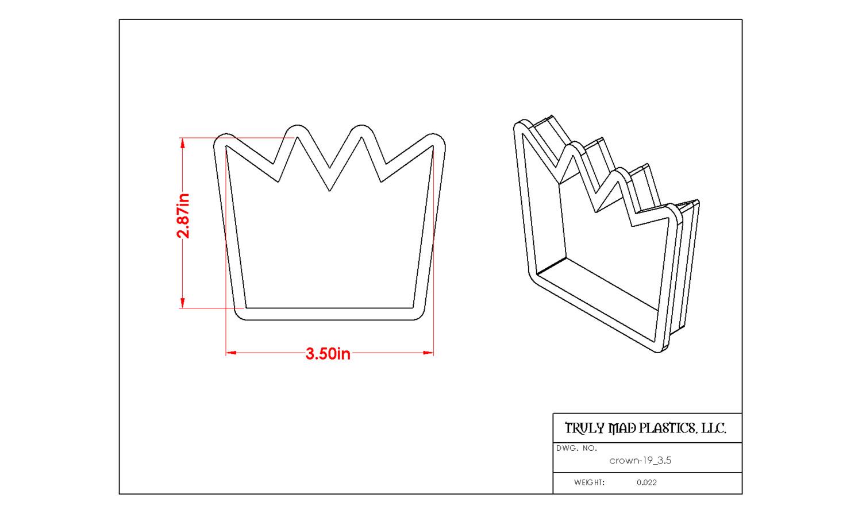 """Crown 19 (3.5"""")"""
