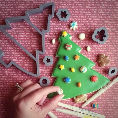 Christmas Tree Set (large C-tree 01, c-tree ornaments)