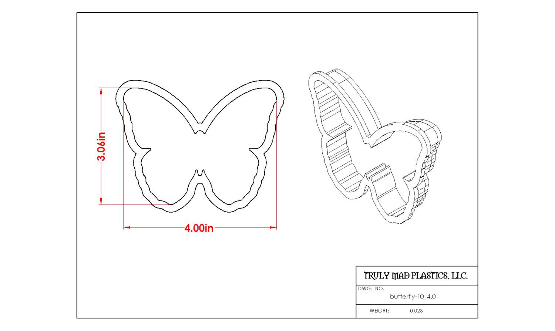 """Butterfly 10 4.0"""""""