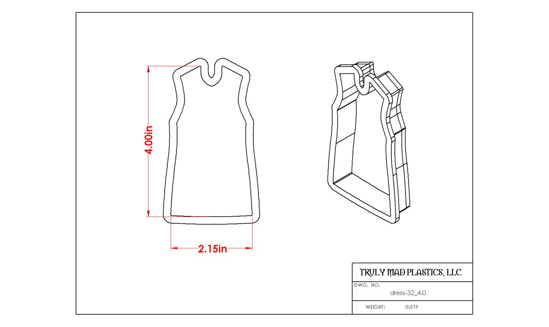 """Dress 32 (4.0"""")"""