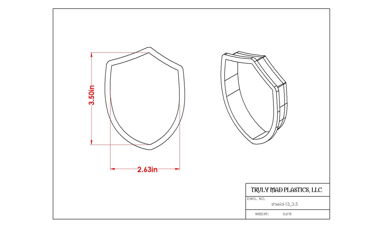 """Shield 13 (3.5"""")"""
