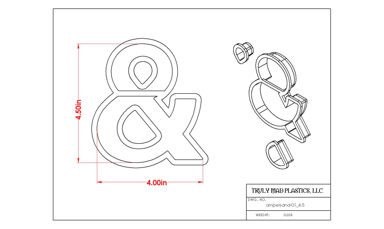 "Ampersand 01 (4.5"")"