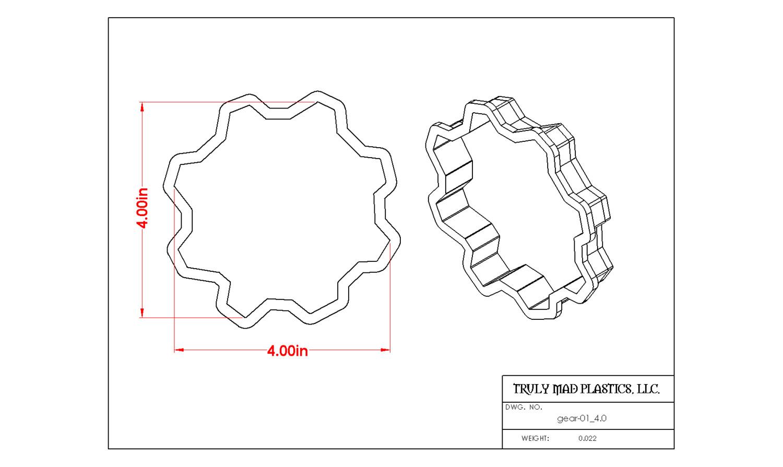"""Gear 01 4.0"""" / Tractor Wheel"""