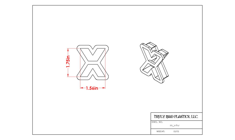 Mini X Helvetica