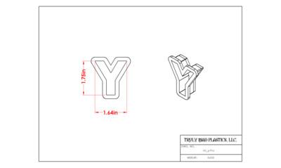 Mini Y Helvetica
