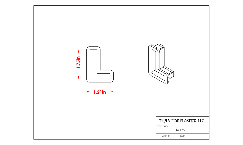 Mini L Helvetica