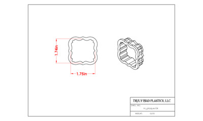 Mini Plaque 04