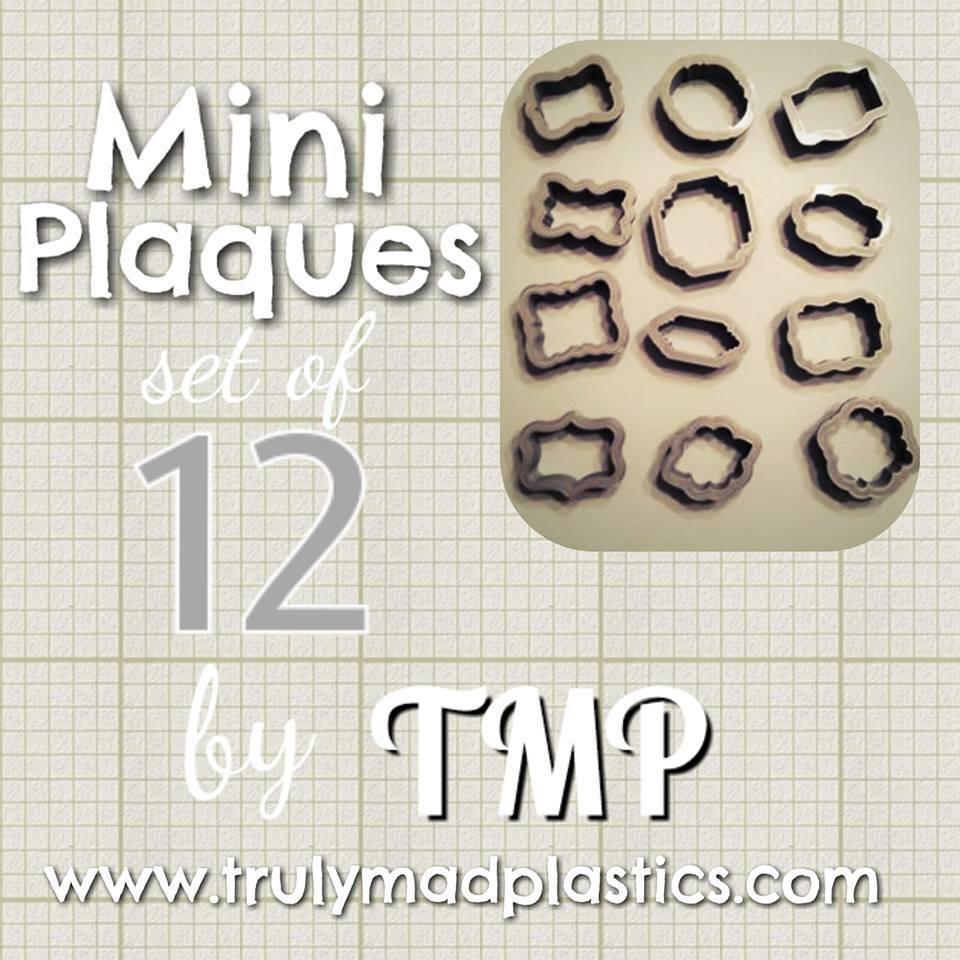 Mini Plaques Set (Set of 12) (47-58)