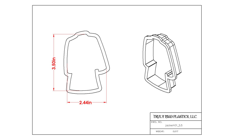 """Jacket-01 (3.5"""")"""